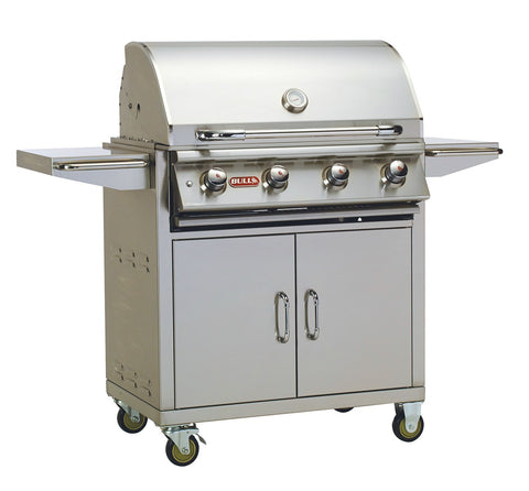 "Bull Outdoor Products - Bull Outdoor Products - 87002 Bull BBQ Lonestar ""Select"" Grill Cart, Natural Gas - Yes - Outdoor Cooking  - Yard Outlet - 1"