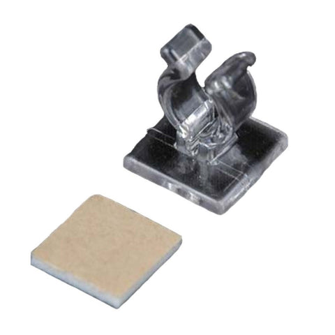 Adhesive Mini Light Clip, Case of 500 - Seasonal Source