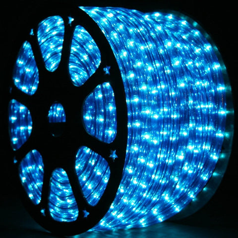 Led ropelight yard outlet led rope light blue 12 inch 150 ft seasonal source aloadofball Image collections
