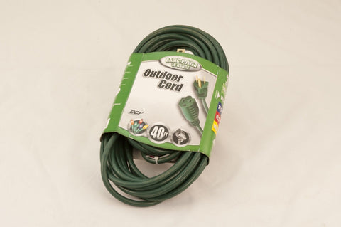 Medium Duty Extension Cord, 40' - Seasonal Source