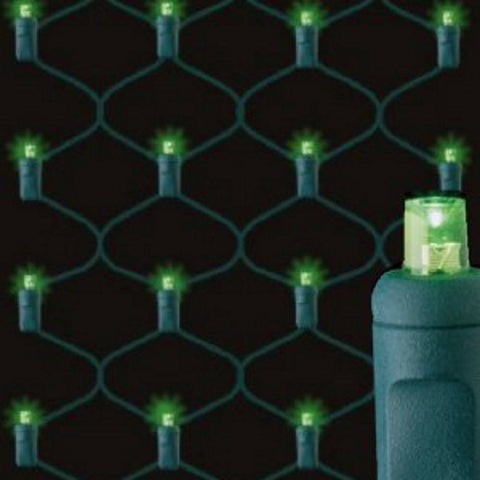 Seasonal Source - 155714-R - Trunk Wrap 5MM LED, Green, Green Wire, 2ft x 6ft, 100 Bulbs - Seasonal Source