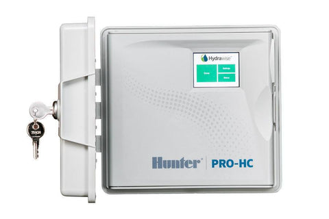 Hunter Industries - Residential Indoor Professional Grade Wi-Fi Controller With Hydrawise Web-based Software - 6 Station Indoor - Hunter Industries