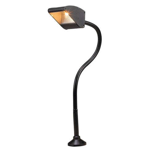 Corona Lighting - Corona Lighting - Black Aluminum Flood BBQ Flexible Light and 12V T3 35W MAX Bulb, Custom Product - 12 Inches - Landscape Lighting  - Yard Outlet