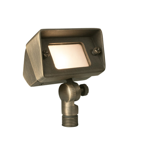 Corona Lighting - Corona Lighting - Brass Mini Flood in Antique Bronze and 12V T3 35W MAX Bulb -  - Landscape Lighting  - Yard Outlet