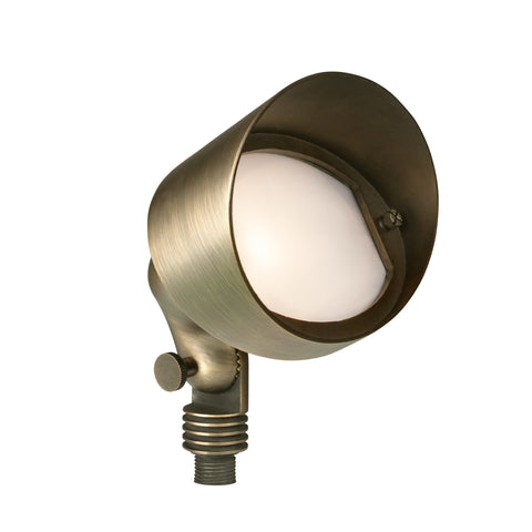 Corona Lighting - Corona Lighting - Brass Oval Flood in Antique Bronze 12V T3 50W MAX Bulb -  - Landscape Lighting  - Yard Outlet