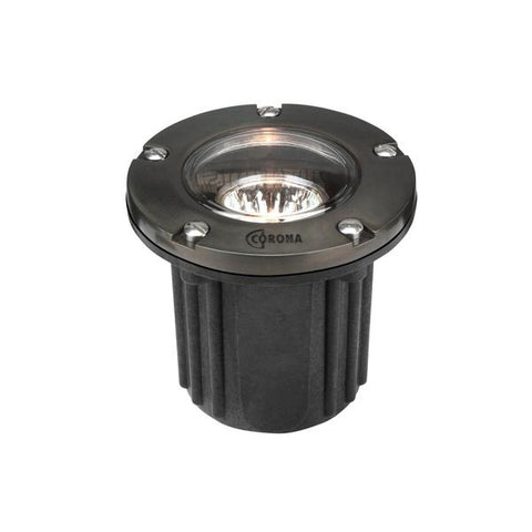 Corona Lighting - CL-316B-GM - Composite Well Light with Gun Metal Faceplate - Corona Lighting