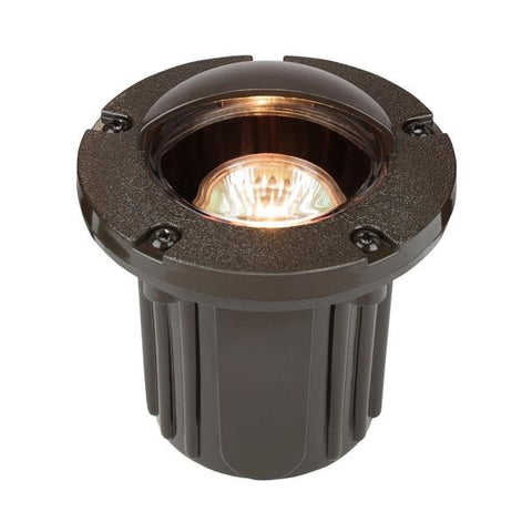 Corona Lighting - CL-340-BZ - Bronze Domed Shroud Composite Well Light - Corona Lighting