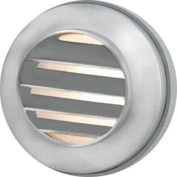 Corona Lighting - CL-342B-SI - Silver Plated Step Light - Corona Lighting