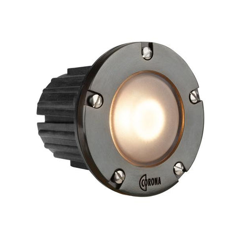 Corona Lighting - CL-346B-GM - Composite Gun Metal Step Light - Corona Lighting