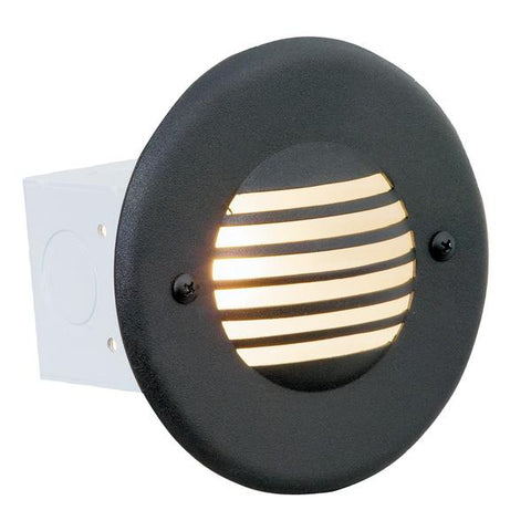 Corona Lighting - CL-359-BZ - Steel Guard Bronze Step Light - Corona Lighting