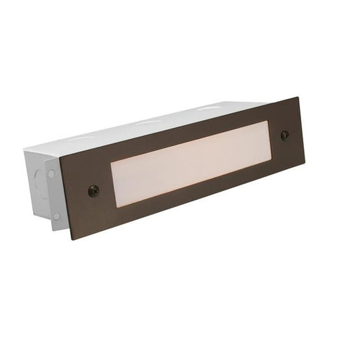 Corona Lighting - CL-366-RT - Aluminum Lensed Rust Brick Light - Corona Lighting