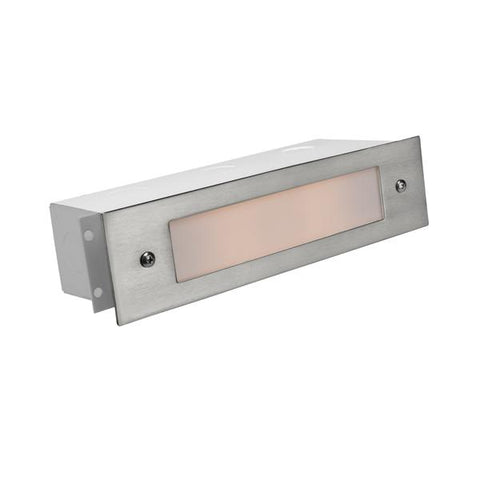 Corona Lighting - CL-366B-SI - Brass Lensed Silver Plated Brick Light - Corona Lighting