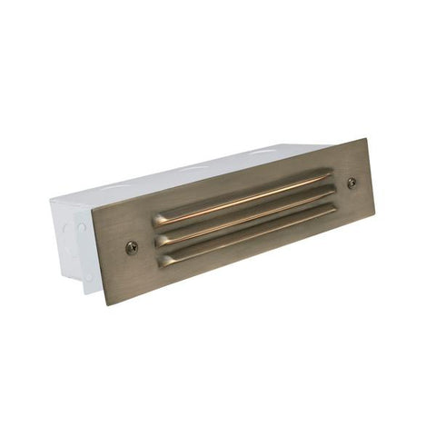 Corona Lighting - CL-367-RT - Aluminum 3 Louver Rust Brick Light - Corona Lighting