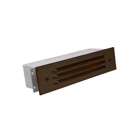 Corona Lighting - CL-367C-RC - 3 Louver Raw Copper Brick Light - Corona Lighting