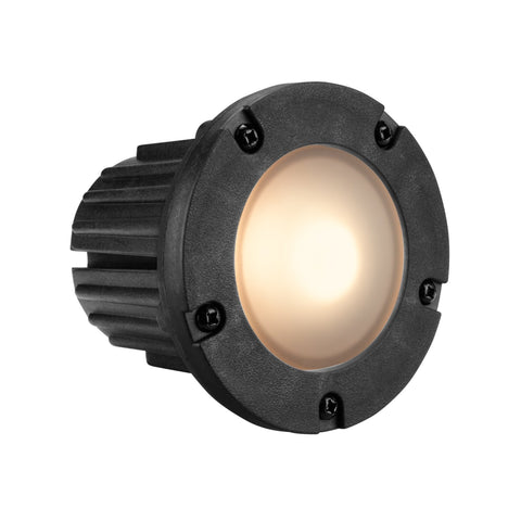 Corona Lighting - Corona Lighting - CL-375 Composite Step Light and 12V MR-16 50W MAX Bulb, Custom Product - Black - Landscape Lighting  - Yard Outlet - 2