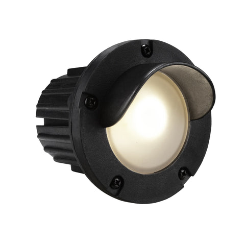 Corona Lighting - Corona Lighting - CL-376 Shrouded Composite Step Light and 12V MR-16 50W MAX Bulb, Custom Product - Black - Landscape Lighting  - Yard Outlet - 2
