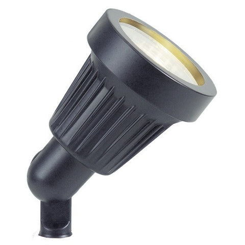 Corona Lighting - Corona Lighting - CL-500 Aluminum Mini Bullet and 12V MR-16 35W Bulb - Black - Landscape Lighting  - Yard Outlet
