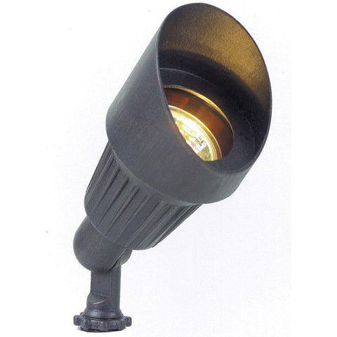 Corona Lighting - Corona Lighting - CL-501 Aluminum Mini Bullet and 12V MR-16 50W Bulb - Black - Landscape Lighting  - Yard Outlet