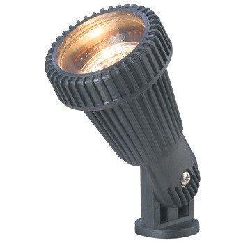 Corona Lighting - CL-502-NM - Aluminum, Black Fiberglass, Mini Bullet - Corona Lighting