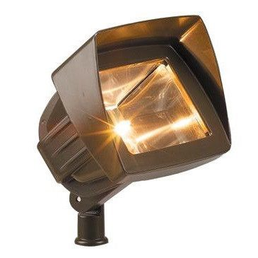 Corona Lighting - Corona Lighting - CL-509 Aluminum Flood and 12V T3 35W MAX Bulb - Black - Landscape Lighting  - Yard Outlet