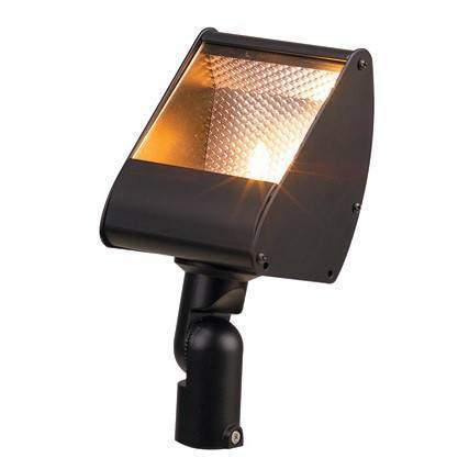 Corona Lighting - CL-516-BZ - Aluminum Mini Flood, Bronze - Corona Lighting