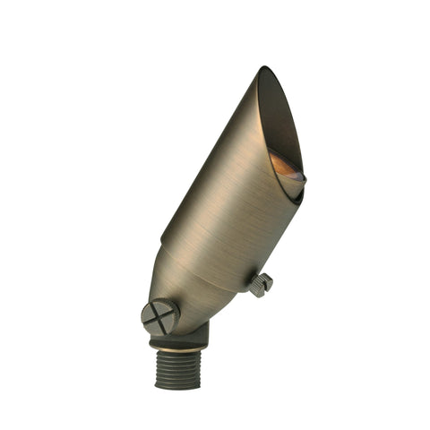 Corona Lighting - Corona Lighting - CL-531B Brass Bullet and 12V MR-11 35W MAX Bulb - Anitque Bronze - Landscape Lighting  - Yard Outlet - 1