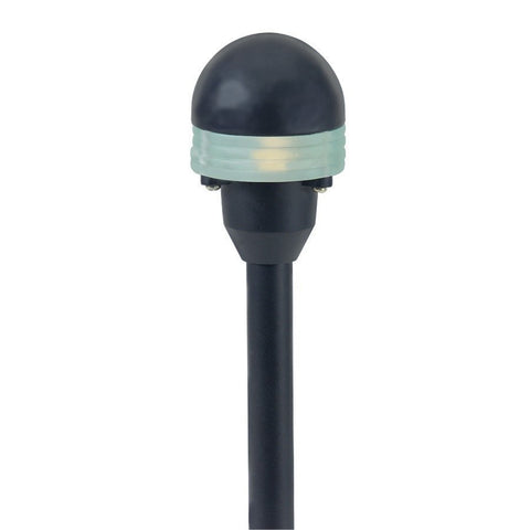 Corona Lighting - Corona Lighting - CL-610 Aluminum Round Mini Disc and 12V T3 20W MAX Bulb - Black - Landscape Lighting  - Yard Outlet