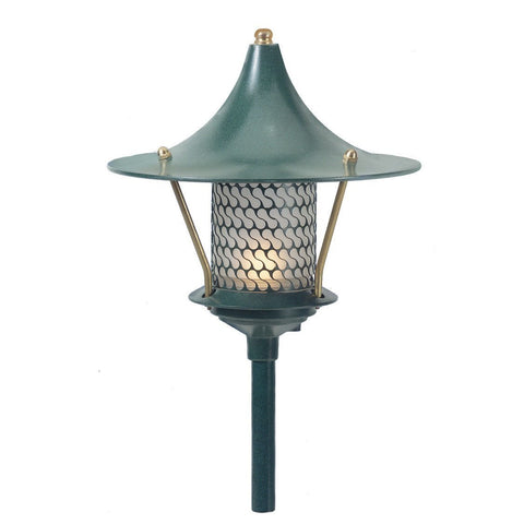 Corona Lighting - Corona Lighting - CL-615 Aluminum Flair with Steel Mesh and 12V T3/T4 50W MAX Bulb -  - Landscape Lighting  - Yard Outlet