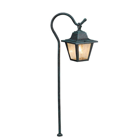 Corona Lighting - Corona Lighting - CL-635 Aluminum Lantern and 12V Bayonet 27W MAX Bulb - Black - Landscape Lighting  - Yard Outlet