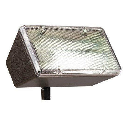 Corona Lighting - ES-1303-WH - White 120 Volt Fluorescent Polycarbonate Flood Light - Corona Lighting