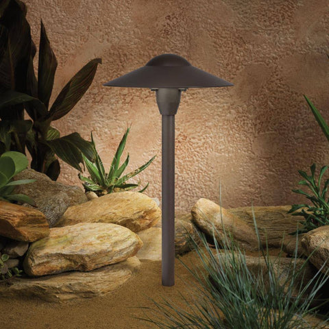 Kichler - Kichler 15410 12V Landscape Path & Spread Light - Architectural Bronze - Landscape Lighting  - Yard Outlet - 1