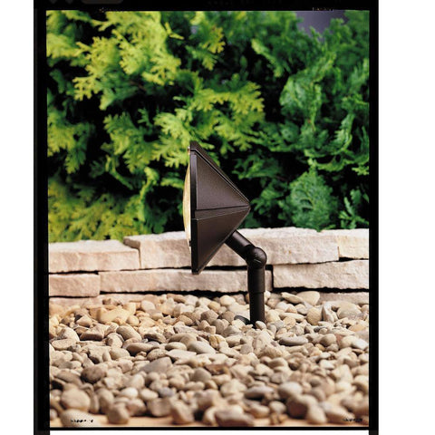 Kichler - Kichler, Adjustable Wall Wash Light - Architectural Bronze - Landscape Lighting  - Yard Outlet - 1