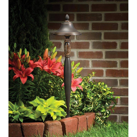 Kichler - Kichler, Aries Manor Landscape Ascents Path and Spread Light -  - Landscape Lighting  - Yard Outlet