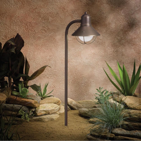 Kichler - Kichler, Seaside Collection Traditional Marine Lantern Path and Spread Light -  - Landscape Lighting  - Yard Outlet
