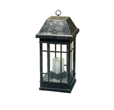 Smart Living Home and Garden - Smart Living Home and Garden, Solar Powered San Rafael II Lantern -  - Landscape Lighting  - Yard Outlet