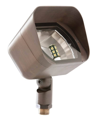 Sollos Landscape Lighting FRF058 5.8 Inch Flood Light in Antique Brass - Sollos Landscape Lighting