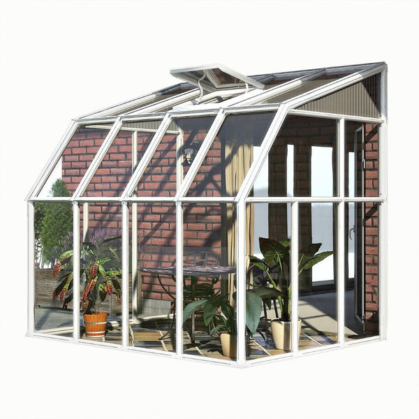 Rion sun room 2 hobby greenhouse series various sizes for Sunroom sizes