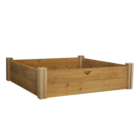 Gronomics - Gronomics - Modular Raised Garden Bed Two Level 48 x 48 x 13 -  - Lawn and Garden  - Yard Outlet - 1