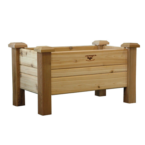Gronomics - Gronomics - Planter Box 18 x 34 x 19 - Unfinished - Lawn and Garden  - Yard Outlet - 1