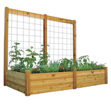 Gronomics - Gronomics - Three Tier 48 x 95 x 80 Raised Garden Bed with Trellis Kit -  - Lawn and Garden  - Yard Outlet - 4