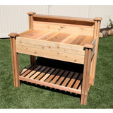 Gronomics - Gronomics - Tool Free Assembly Potting Bench 24 x 48 x 48 -  - Lawn and Garden  - Yard Outlet - 2