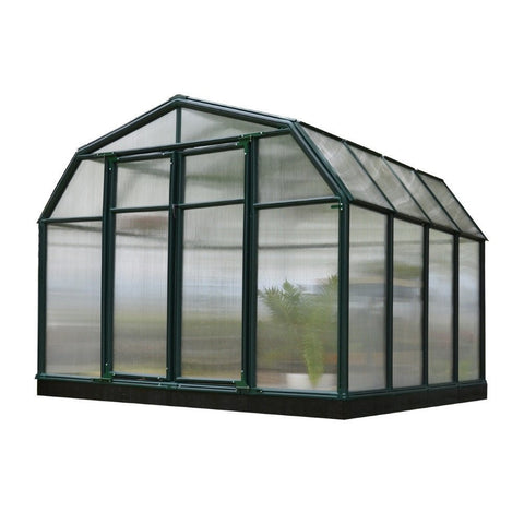 Rion - HG7108 - Hobby Gardener 2,  8' x 8' Twin Wall Greenhouse - Green - Poly-Tex