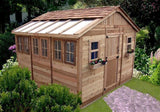 Outdoor Living Today - SSGS1212 - 12 x 12 Sunshed Garden Shed with Dutch Door - Outdoor Living Today