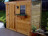 Outdoor Living Today - SS84 - 8 x 4 SpaceSaver Lean To Style Shed - Outdoor Living Today
