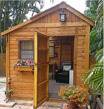 Outdoor Living Today - 8 x 8 Sunshed Garden Shed with ... on Garden Houses Outdoor Living id=55732