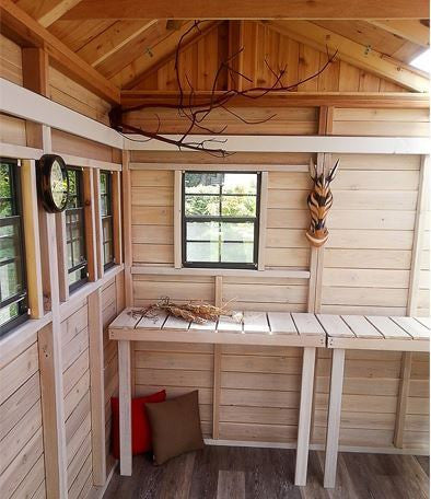Outdoor Living Today - 8 x 8 Sunshed Garden Shed with ... on Outdoor Living Today Sunshed id=51102