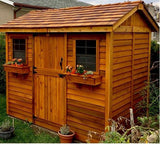 Outdoor Living Today - 9 x 6 Cabana Shed with Dutch Doors - Outdoor Living Today