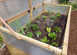 Outdoor Living Today - RB63MGH Raised Garden Bed 6 x 3 Mini Greenhouse Kit - Outdoor Living Today