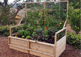 Outdoor Living Today - RB63TO Raised Garden Bed 6 x 3 with Trellis Lid Kit - Outdoor Living Today