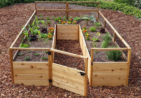 ... Outdoor Living Today   RB812 Raised Garden Bed 8 X 12   Outdoor Living  Today ...